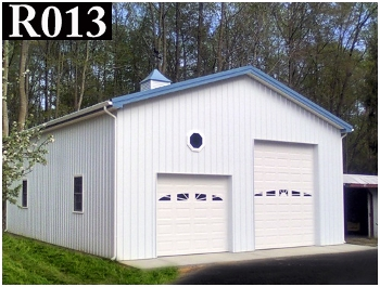 Diamond state pole buildings residential for Pole barn specs
